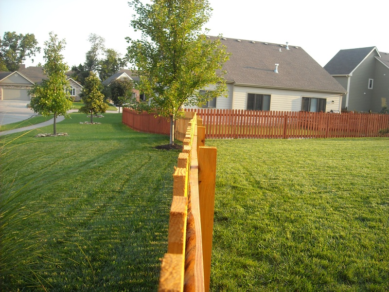 Custom Fence in Topeka, KS